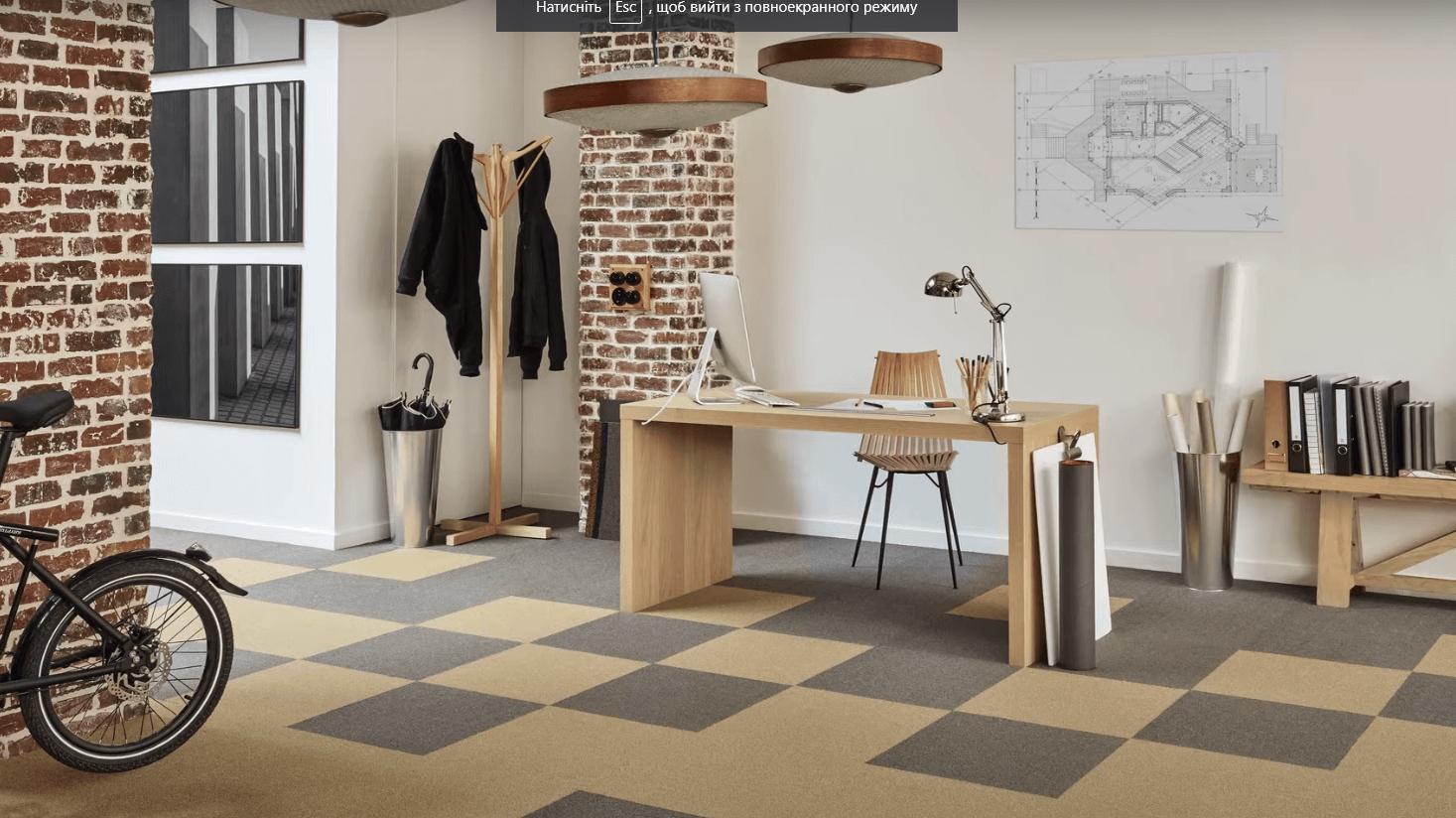 Что такое плиточный ковролин